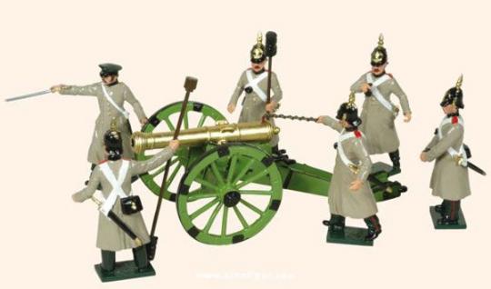 Artillery, firing