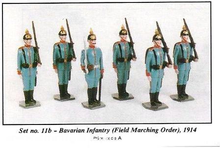 Bavarian Infantry 1914