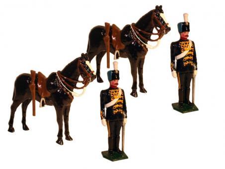 3rd King's Own Hussars - Mannschaften mit Pferden