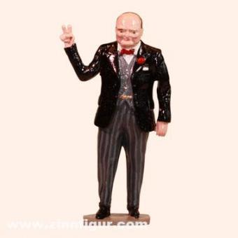 Sir Winston Churchill - Victory Sign