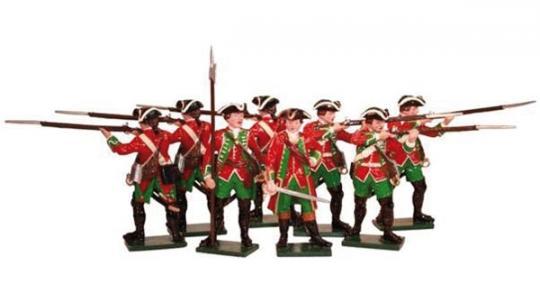 51. Brudenells Regiment bei Minden