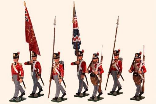 Foot Guards Kommandofiguren