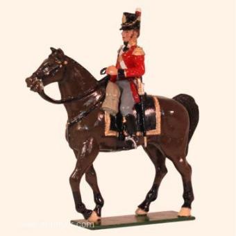 British Foot Guards Senior Officer