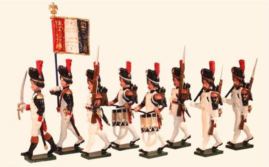 Französische Garde-Grenadiere