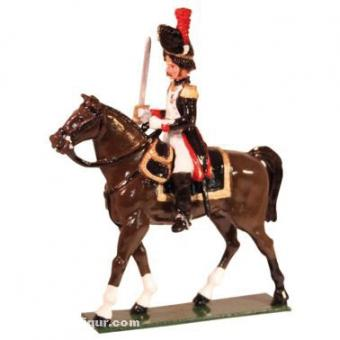 Mounted Officer Grenadiers of the Guard