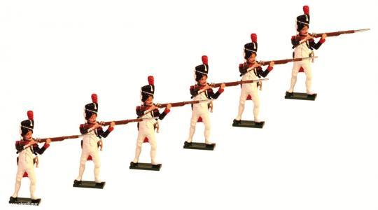Grenadiere der Garde, feuernd