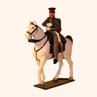Gebhard Leberecht von Blücher on horseback