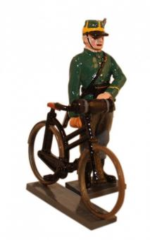Infantryman with Bicycle - 1st Carabiniers