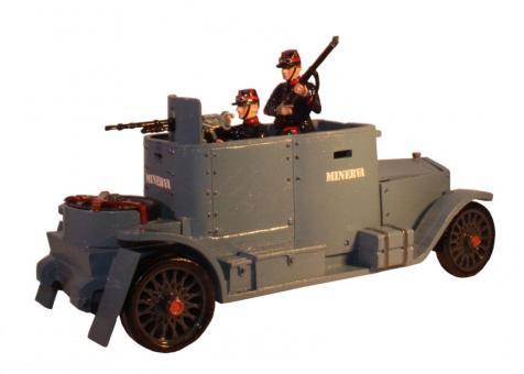 Minerva Armoured Car with Crew