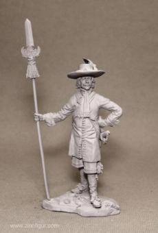 Infanterie-Offizier - 1645-1660