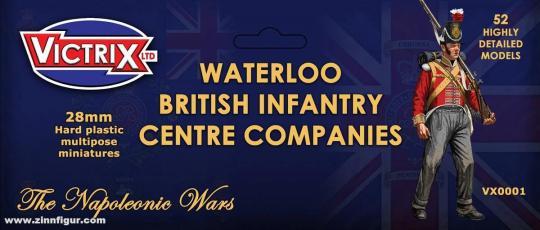 Britische Infanterie: Zentrums-Kompanien