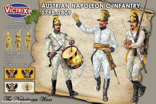 Österreichische Füsiliere mit Helmen
