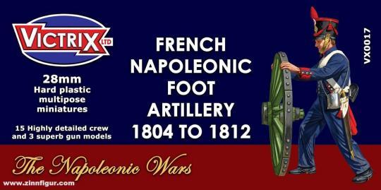 Französische Napoleonische Fußartillerie 1804-1812