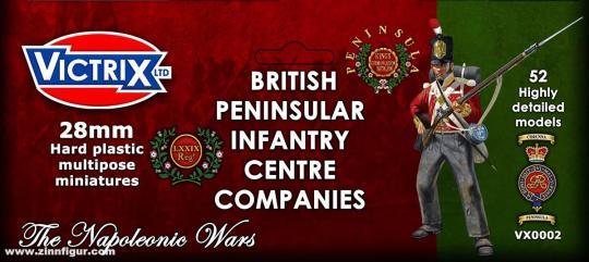 Britische Infanterie: Peninsular Zentrumskompanien
