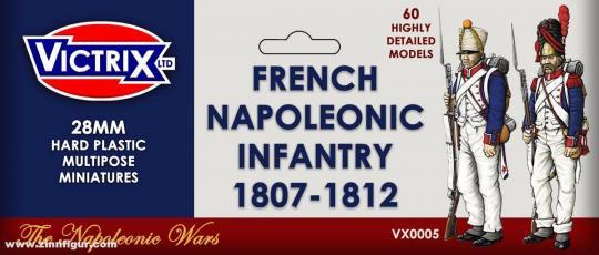 Französische Napoleonische Infanterie