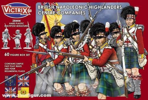 Britische Highlander: Zentrumskompanien