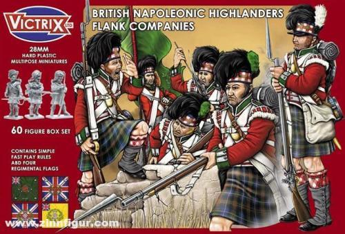 Britische Highlanders: Flügel-Kompanien