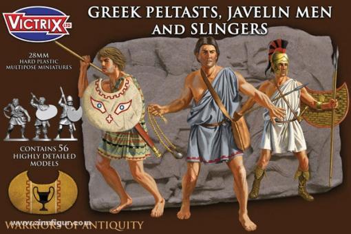 Griechische Peltasten, Speerwerfer und Schleuderer