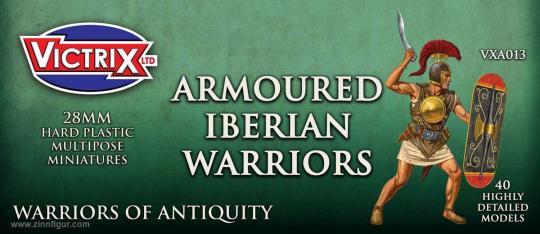 Gepanzerte Iberische Krieger