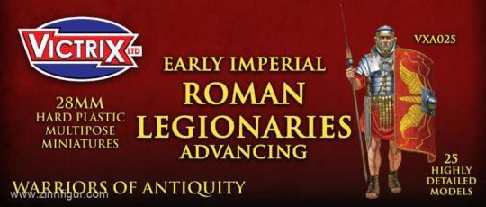 Frühe Kaiserliche Römische Legionäre - vorgehend