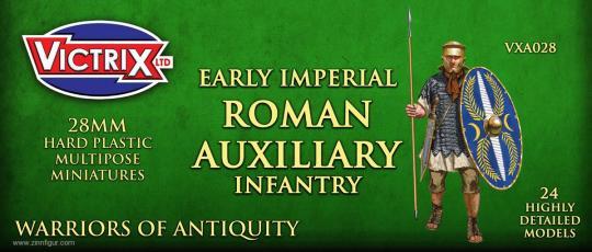 Frühe Imperiale Römische Auxiliar-Infanterie