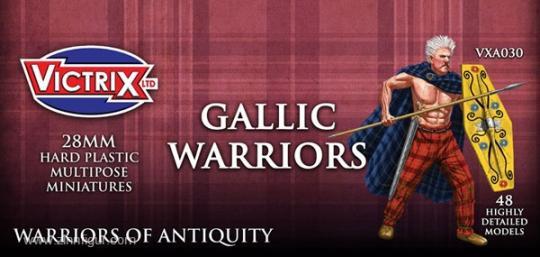 Gallische Krieger