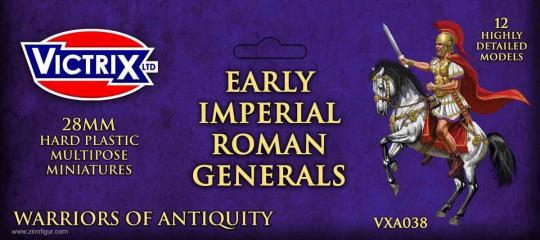Frühe Römische Imperiale Generäle zu Pferd
