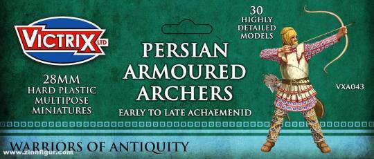 Persische gepanzerte Bogenschützen
