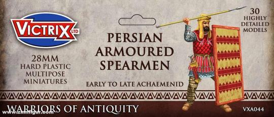 Persische gepanzerte Speerkämpfer