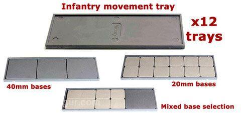 Victrix Infanterie Movement Trays