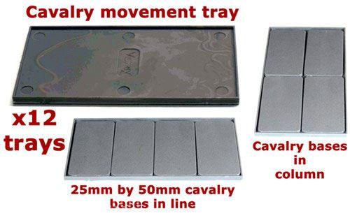 Victrix Kavallerie Movement Trays
