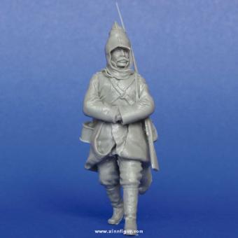 Russischer Soldat WK1, Winter