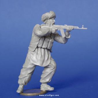 Mujahideen mit AK-74