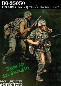 """US Army Infanteristen """"Let's Go Get 'Em!"""""""