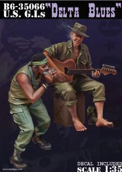 """US G.I.s """"Delta Blues"""""""