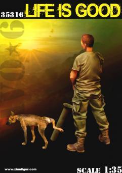 """US Soldat erleichtert sich - """"Life is Good"""""""