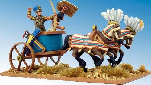 Pharao auf Streitwagen