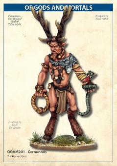 Cernunnos - Keltischer gehörnter Gott