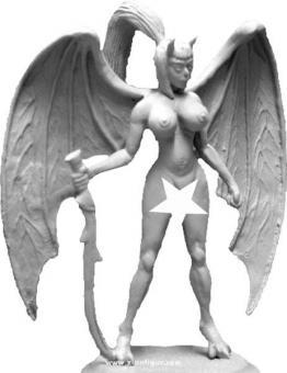 Dämonen-Kriegerin