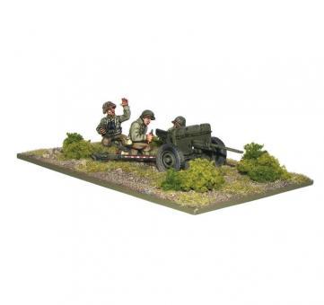 US Army M3A1 37 mm PaK mit Bedienung