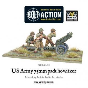 US Army 75 mm Haubitze