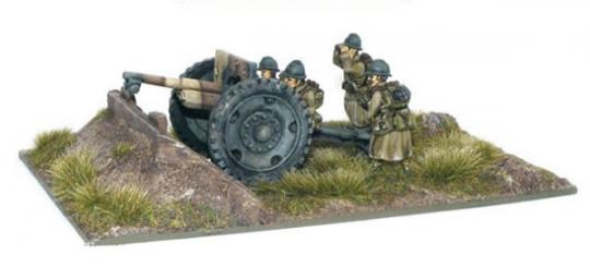 Französisches 75 mm Geschütz