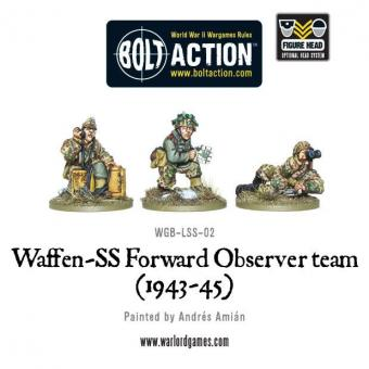 Waffen SS Forward Observer Team