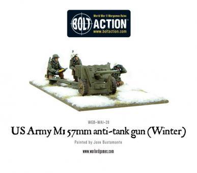 US Army 57 mm PaK M1 - Winter