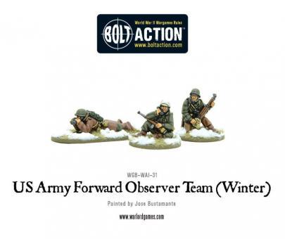 US Army Artilleriebeobachter - Winter