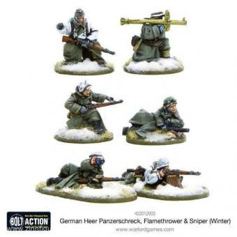 Panzerschreck, Flammenwerfer & Scharfschützentrupps - Winter