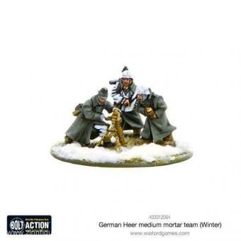 Deutsches Heer Mittlerer Mörser Trupp - Winter