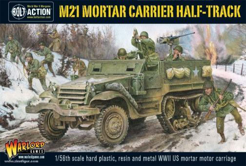 M21 Halbkettenfahrzeug mit Mörser