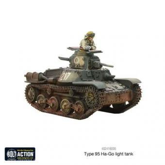 Type 95 Ha-Go Leichter Panzer