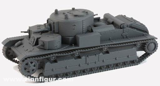 Soviet T-28 Tank